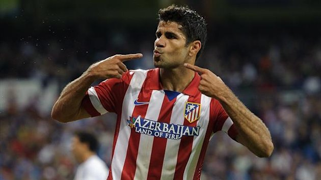 Diego Costa scored twice and missed a penalty (AFP)