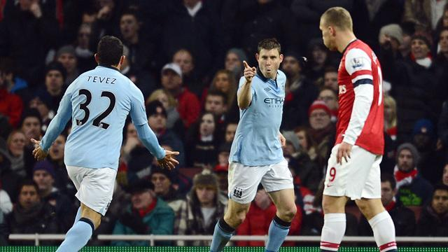 Premier League - Milner-Dzeko, il City espugna l'Emirates