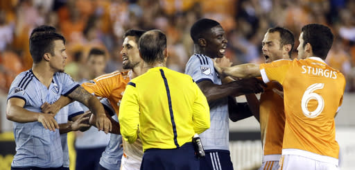 Major League Soccer suspends 3 players for 1 game