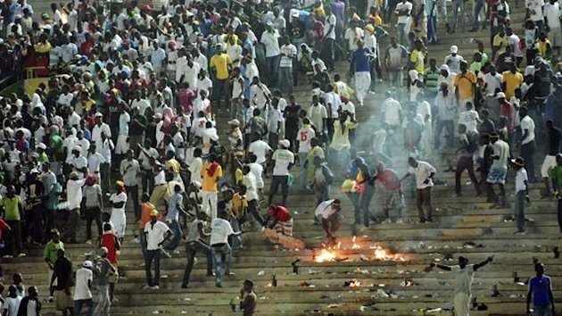 Senegal-Ivory Coast riot