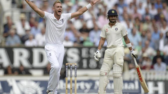 Cricket - Broad left out of England one-day squad to face India