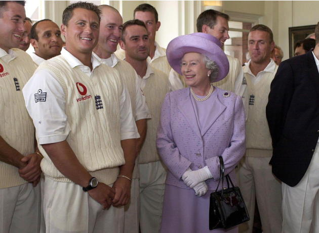 Queen England Cricketers