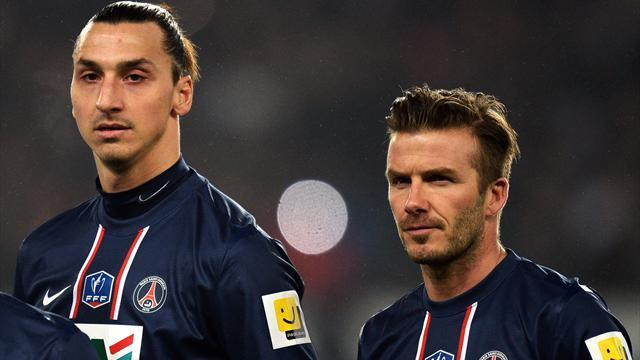 Ligue 1 - Beckham and Ibrahimovic back in training