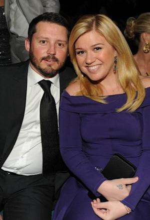 Brandon Blackstock and Kelly Clarkson -- Getty Premium