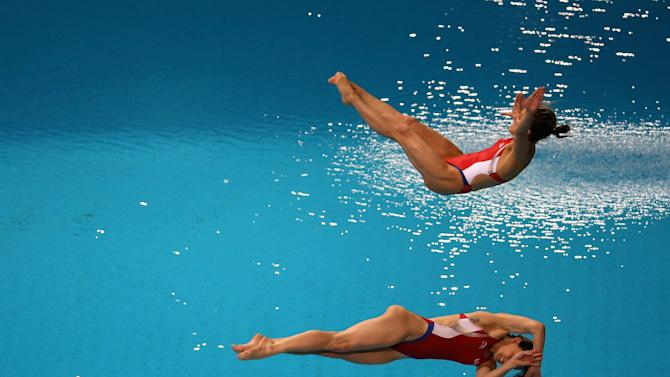 FINA/NVA Diving World Series 2014 - Day One