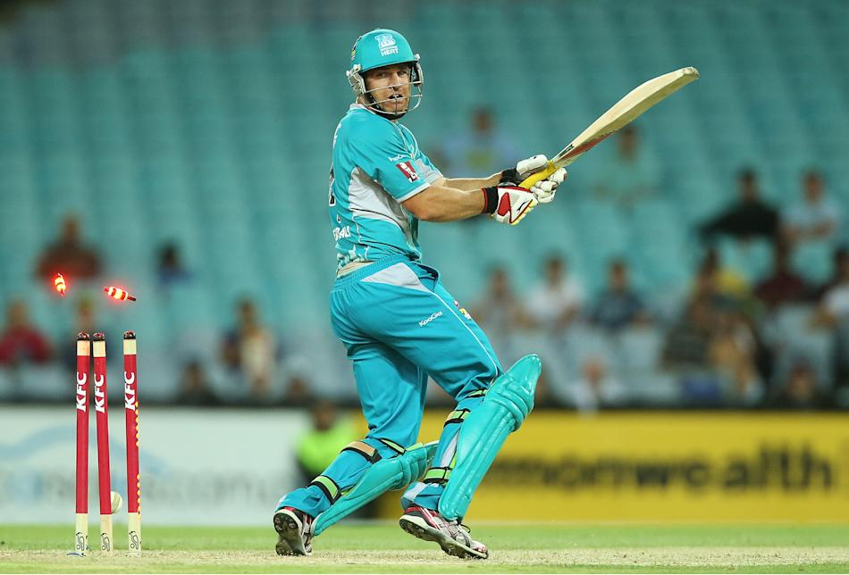 Big Bash League - Thunder v Heat