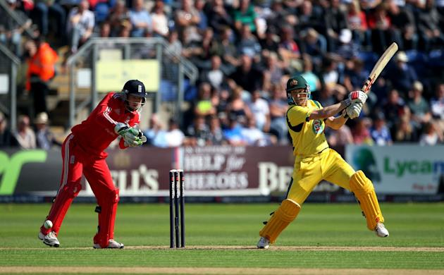 Cricket - Natwest One Day International Series - Fourth One Day International - England v Australia - SWALEC Stadium