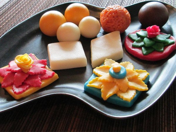 marzipan mithai for the festive season