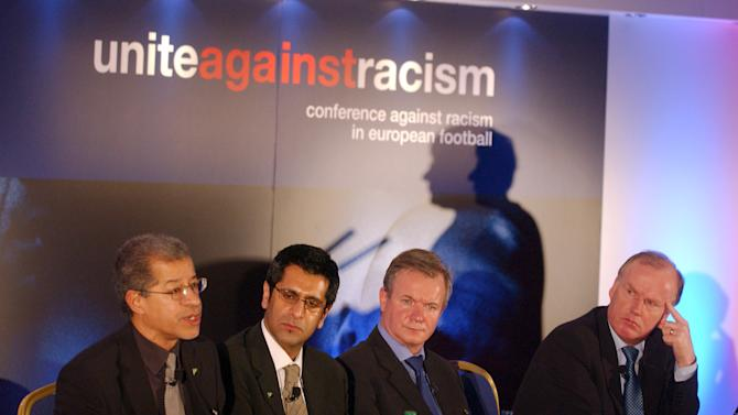 Lord Herman Ouseley, left, believes 'there is very little morality in football among the top clubs'