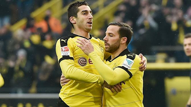 Borussia Dortmund 1 Hannover 0: Mkhitaryan special sees off basement boys