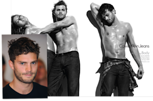 Double the Dornan: Jamie featured in a 2009 Calvin Klein ad.