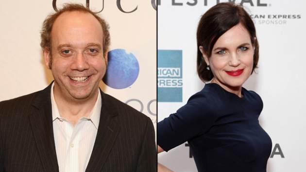 Paul Giamatti, Elizabeth McGovern -- Getty Images