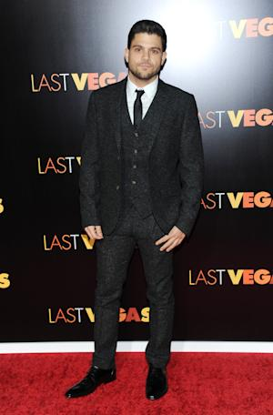 "Actor Jerry Ferrara attends the premiere of ""Last Vegas"" at the Ziegfeld Theatre on Tuesday, Oct. 29, 2013, in New York. (Photo by Evan Agostini/Invision/AP)"
