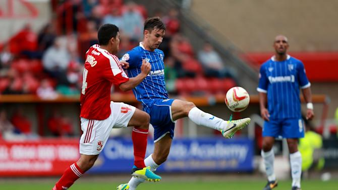 Soccer - Sky Bet Football League One - Swindon Town v Gillingham - County Ground