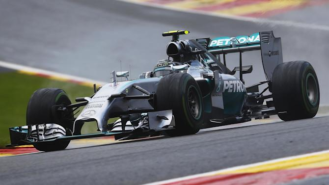 Belgian Grand Prix - Another pole for Rosberg as Mercedes rule in Spa