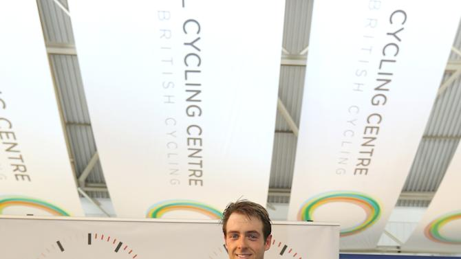 Alex Dowsett - UCI Hour Record Attempt