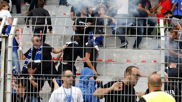 Ligue 1 - Bastia barred from playing at home after violence