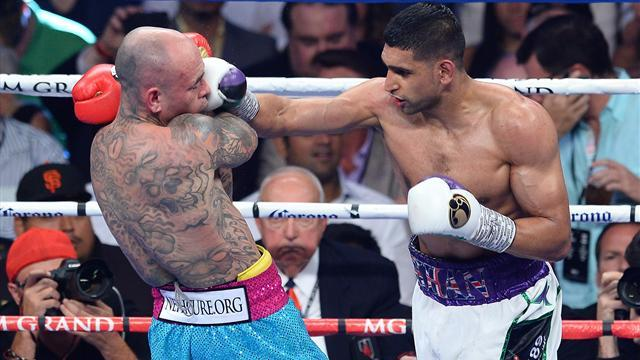 Boxing - Amir Khan returns by outclassing Luis Collazo
