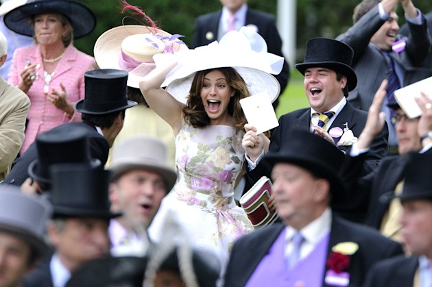 Ascot 2012 Kelly Brook