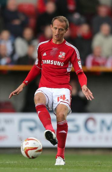 Paul Benson has scored three times for Swindon this term