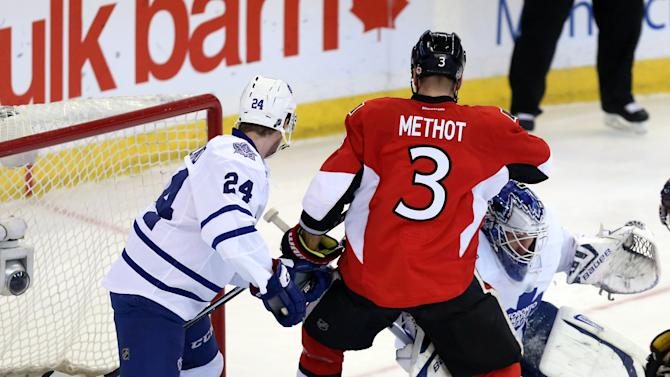 Spezza, Anderson lead Senators past Maple Leafs
