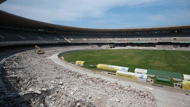 World Cup - Plush Brazil stadiums put a hole in fans' pockets
