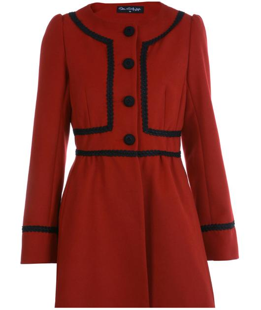 This coat has Kate Middelton written all over it! Make your own stamp on it by wearing it your way be it with tough boots, pretty pumps or sky-scraper heels. £80, missselfridege.com
