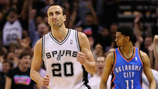 Basketball - Spurs silence Thunder to move within one win of Finals