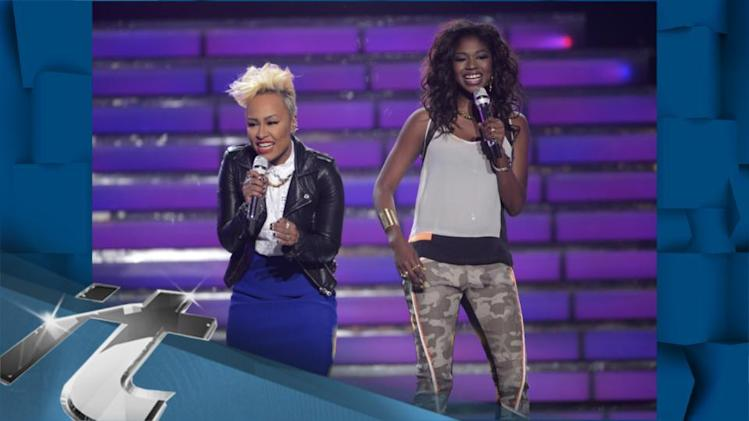 Emeli Sande & Amber Holcomb Belt Out Next To Me LIVE On American Idol!