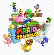 "Mario, Luigi, Peach and Toad star in ""Super Mario 3D World"" -- sometimes as cats"