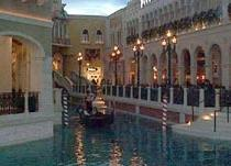 Gondola Rides at the Venetian