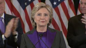 Hillary Clinton Publicly Concedes: 'This Is Painful …