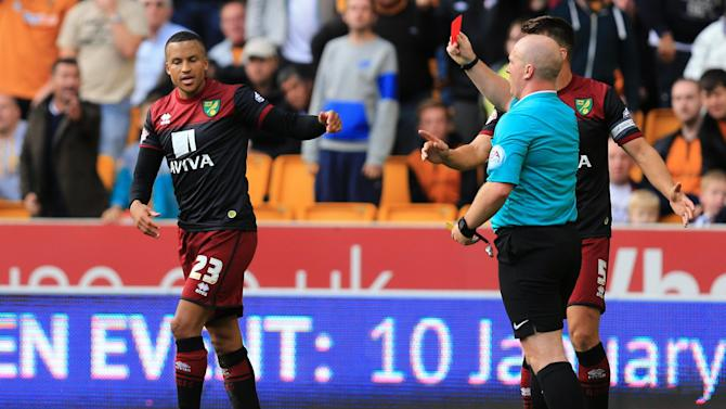 Championship - FA charges Olsson over ref 'push' as Norwich launch racism probe