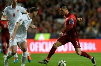 Portugal 2-1 Serbia: Coentrao fires Seleccao top of Group I