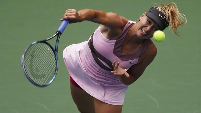 Sharapova, Serena into US Open semis