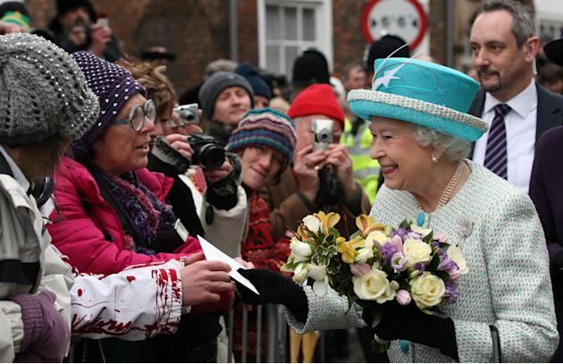 Queen Elizabeth II Visits King's Lynn
