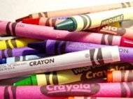 Crayons for school