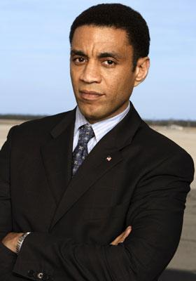 """Harry J. Lennix ABC's Commander In Chief <a href=""""/baselineshow/4790385"""">Commander-in-Chief</a>"""
