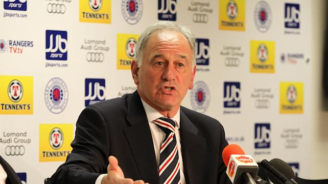 Charles Green has spoken of his belief that an agenda exists against Rangers