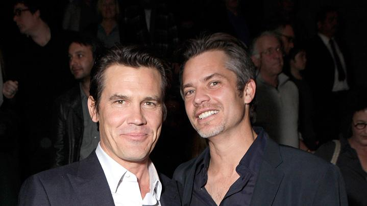 True Grit 2010 LA Screening Josh Brolin Timothy Olyphant