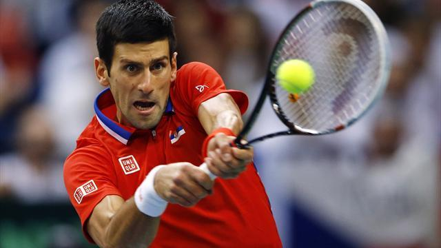 Davis Cup - Serbia Davis Cup captain defends absent Djokovic