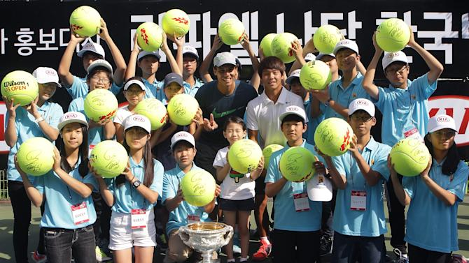 Rafael Nadal Visits South Korea