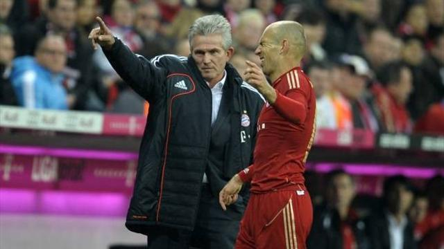 Bundesliga - Robben to miss Dortmund clash, Schweini back