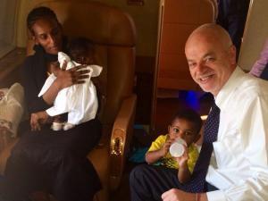 Sudanese Christian Woman Meriam Ibrahim Arrives in…