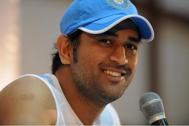 Indian cricket captain Mahender Singh Dh