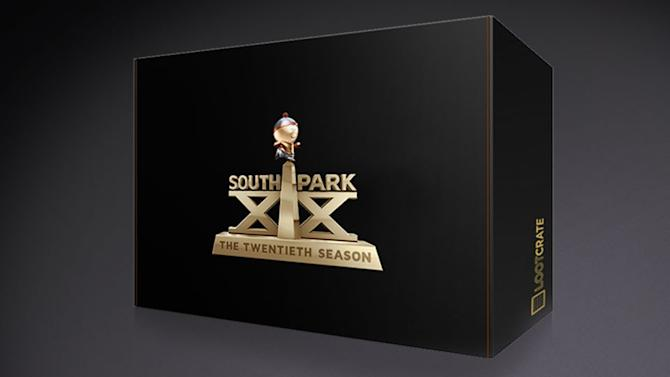 Check out this special edition crate to celebrate #SouthPark20! Packed with exclusive loot for any South Park fan!