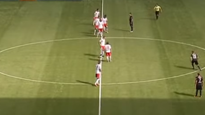 VIDEO: Remembering RB Leipzig's Insane Formation & Early Goal in German 2nd Division Match in 2013