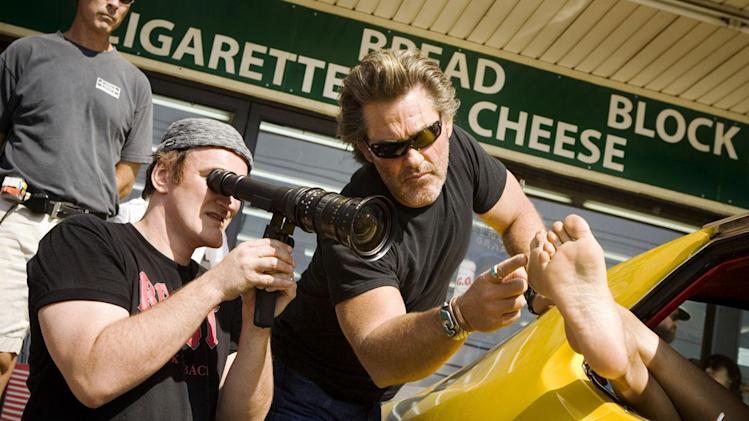 Quentin Tarantino takes 'Hateful Eight' script out for an all-star live test drive