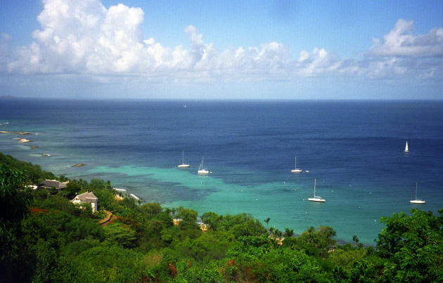 The island of Mustique, a small private island in the West Indies, has catered to a number of celebrities and elite guests (PA)