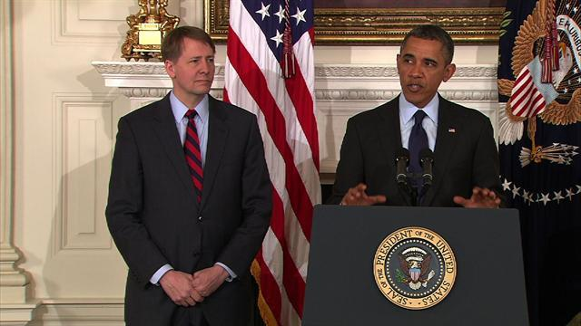 Obama renominates Cordray to head Consumer Financial Protection Bureau
